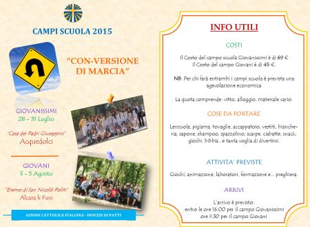 Info Campi scuola
