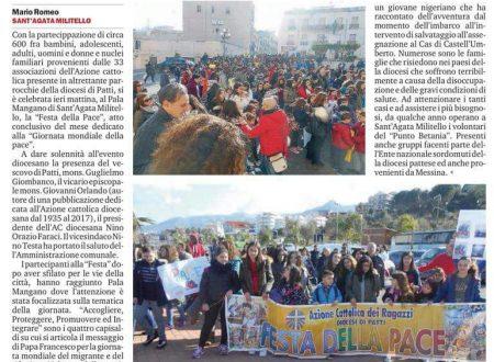 Rassegna stampa Festa della Pace